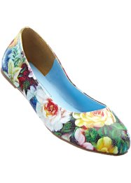 Ballerines, bpc bonprix collection, vert pelouse/violet/bleu