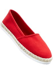 Espadrilles, bpc bonprix collection, rouge