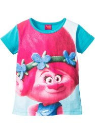 T-shirt TROLLS, Trolls the Movie, turquoise multicolore