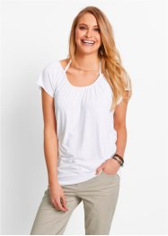 T-shirt extensible manches courtes, bpc bonprix collection