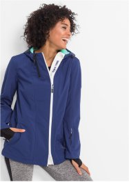 Veste softshell, bpc bonprix collection, bleu nuit