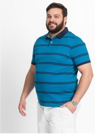 Polo Regular Fit, bpc selection, bleu pétrole rayé