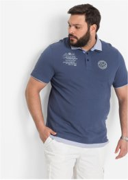 Polo Regular Fit, bpc selection, indigo clair