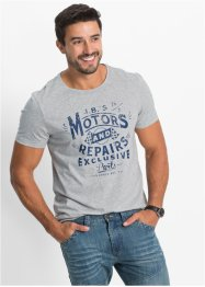 T-shirt Regular Fit, John Baner JEANSWEAR, gris clair chiné