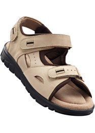 Sandales en cuir, bpc selection, beige/marron