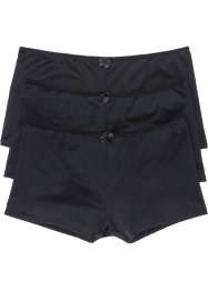 Lot de 3 shorties Micro Touch, bpc bonprix collection