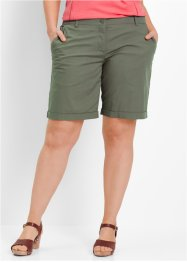 Bermuda extensible, bpc bonprix collection, olive