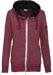 Veste sweat-shirt outdoor fonctionnelle, manches longues, bpc bonprix collection