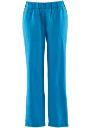 Pantalon confort en lin 7/8, bpc bonprix collection