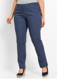 Pantalon droit en twill, bpc bonprix collection, indigo