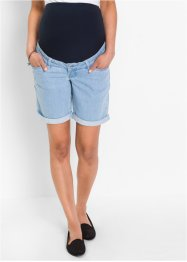 Short en jean de grossesse, bpc bonprix collection, bleu bleached