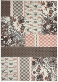 Tapis Butterfly, bpc living, gris
