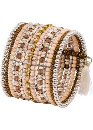 Bracelet avec perles, bpc bonprix collection