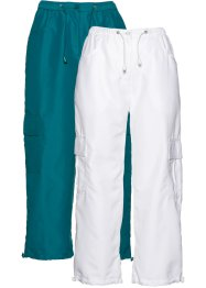 Lot de 2 pantalons 7/8, bpc bonprix collection