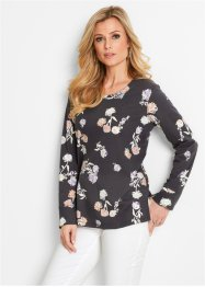 Sweat-shirt à imprimé floral, bpc selection