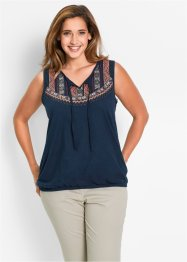 Top en jersey fil flammé, bpc bonprix collection