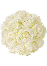 Bouquet artificiel Roses Blanches, bpc living