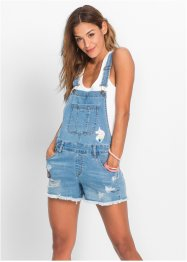 Salopette short en jean, RAINBOW