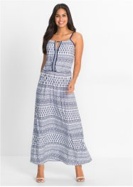 Robe maxi longue à motif : Must Have, BODYFLIRT