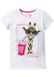 T-shirt à imprimé girafe, bpc bonprix collection