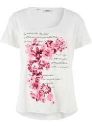 T-shirt à imprimé floral, bpc bonprix collection