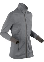 Veste de sport jersey, manches longues, bpc bonprix collection