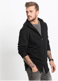 Gilet sweat-shirt long Slim Fit, RAINBOW