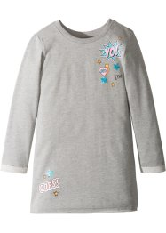 Robe sweat à imprimé gag, bpc bonprix collection