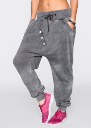 Pantalon sweat avec longue patte de boutonnage, RAINBOW