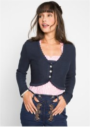 Gilet en maille bavarois, bpc bonprix collection