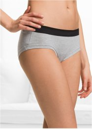 Lot de 4 shorties coton bio, bpc bonprix collection