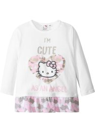 T-shirt à manches longues et volant HELLO KITTY, Hello Kitty
