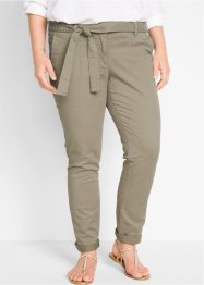 Pantalon extensible avec lien à nouer, bpc bonprix collection