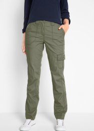 Pantalon cargo extensible effet paper touch, bpc bonprix collection