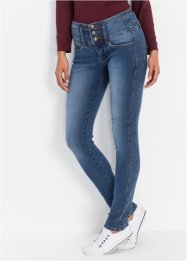 "Jean power stretch ""ventre jambes fessiers remodelés"" SLIM, John Baner JEANSWEAR"