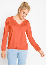 Blouse T-shirt manches longues, bpc bonprix collection