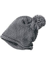 Bonnet à pompon en maille, bpc bonprix collection