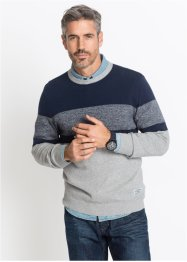 Pull rayé Regular Fit, John Baner JEANSWEAR