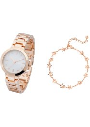 Set montre bracelet et bracelet, bpc bonprix collection