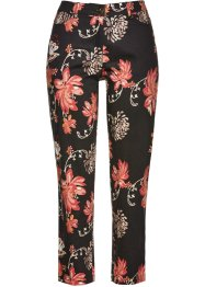 Pantalon extensible 7/8 imprimé, bpc selection