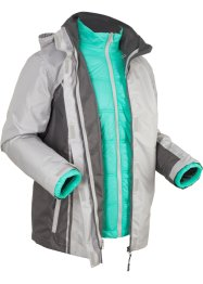 Veste outdoor fonctionnelle 3en1, rembourrée, bpc bonprix collection