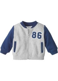 Blouson baseball en coton bio, bpc bonprix collection