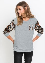 Sweat-shirt avec application, RAINBOW