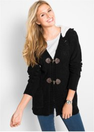 Gilet en maille chenille, manches longues, bpc bonprix collection