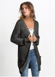 Cardigan avec fil brillant, RAINBOW