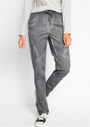 Pantalon coton avec délavage used, bpc bonprix collection