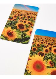 Plaques de protection Tournesols (Ens. 2 pces.), bpc living