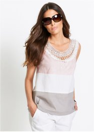 Top-blouse en lin, bpc selection premium
