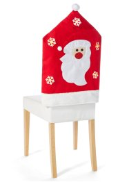 Lot de 2 housses de chaise avec LED Santa, bpc living