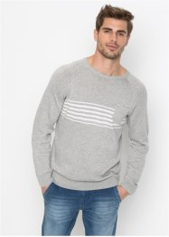 Pull avec poche Regular Fit, John Baner JEANSWEAR